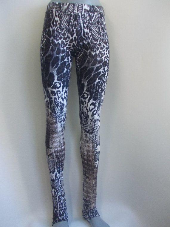 cheetah print extra long yoga pants gym leggings tights by magneti ...