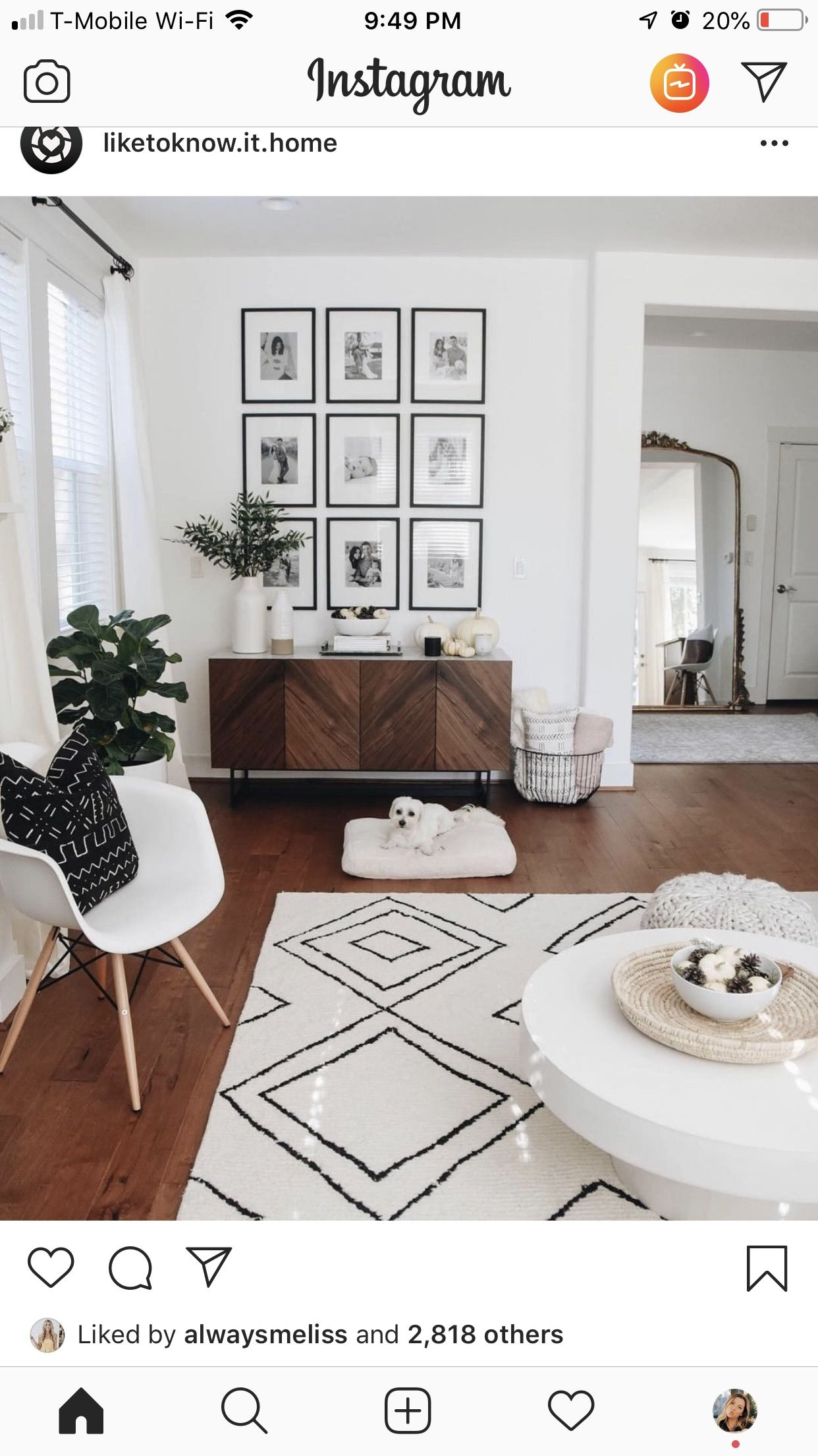 Pin by Mélissa Saux on Home: Decor  Gallery wall living room