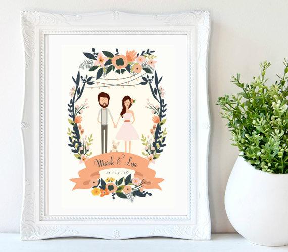 Printable Couples Portrait Or