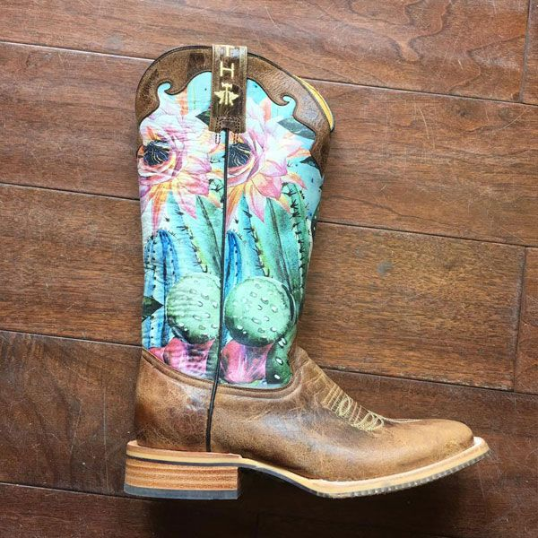 1271b9b2da28 Look Sharp And Get Your Cowgirl On With Tin Haul Cactus Boots - COWGIRL  Magazine