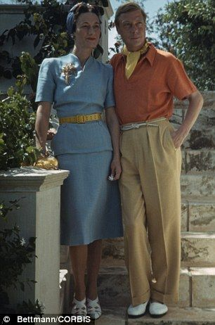 Glamorous: The Duke and Duchess of Windsor in Miami in 1941