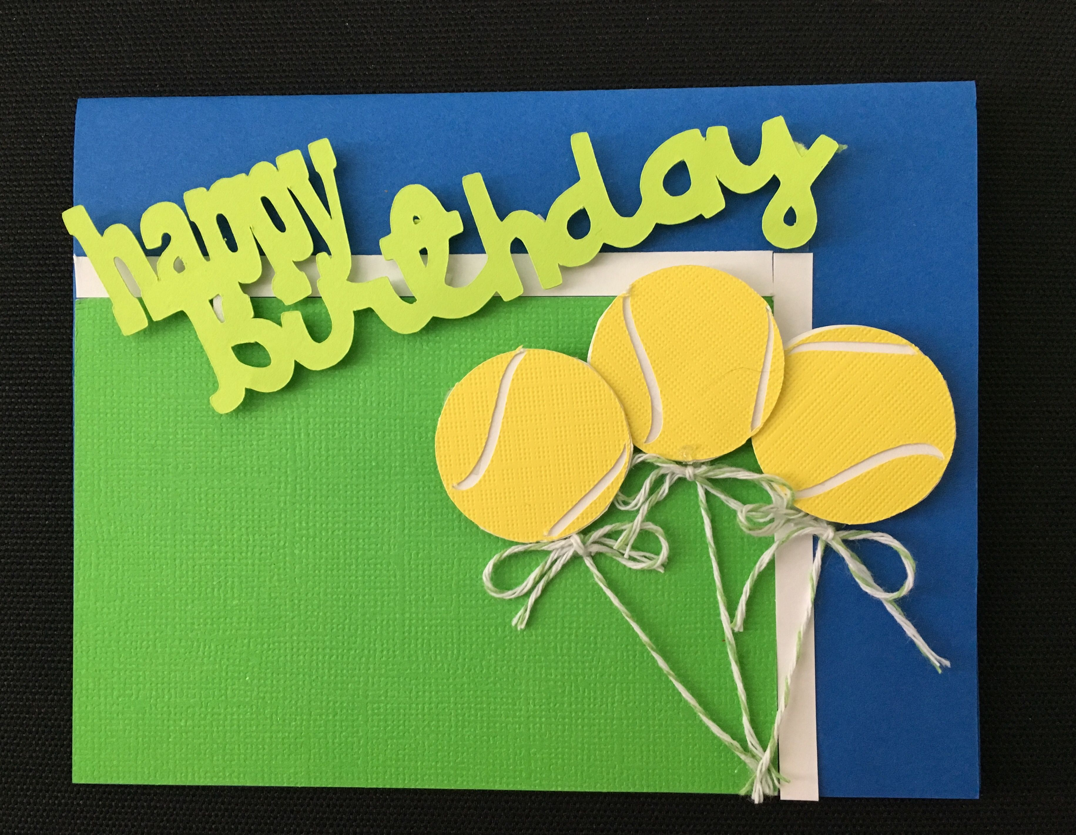 Pin by betsy murray on tennis pinterest tennis cards and tennis homemade cards birthday cards balloon diy gifts tennis greeting cards for birthday tennis sneakers anniversary cards diy cards m4hsunfo Choice Image