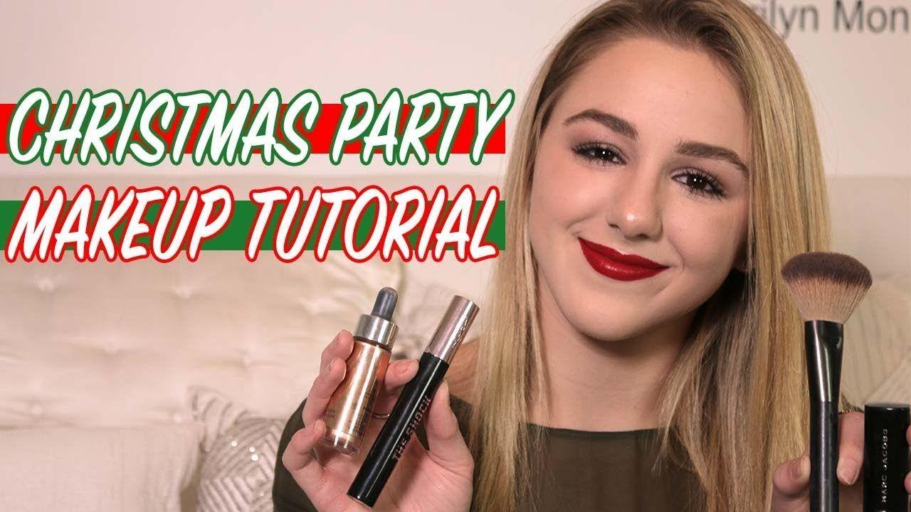 Grwm Christmas Party Makeup Tutorial Chloe Lukasiak Youtube Christmasmakeupandhair Party Makeup Tutorial Christmas Party Makeup Party Makeup Office christmas party (original title). pinterest