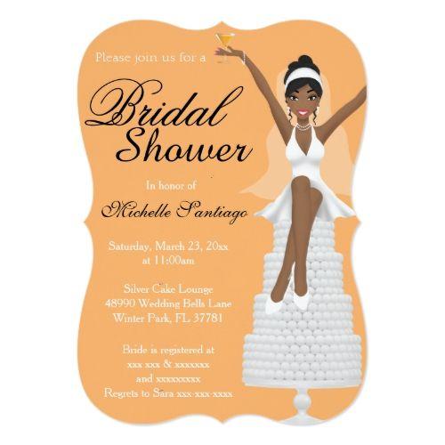 Chic White Wedding Theme: Chic White Modern Bridal Shower Invite