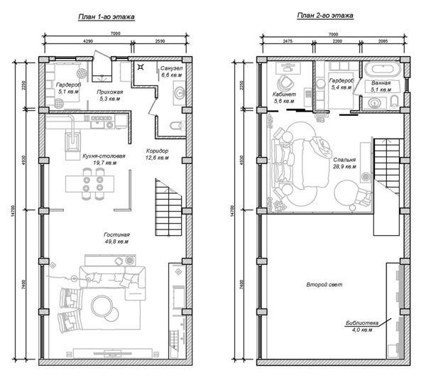 Impressive Industrial Lofts In Budapest Home Design And Interior Loft Floor Plans Loft Plan Industrial House Plans