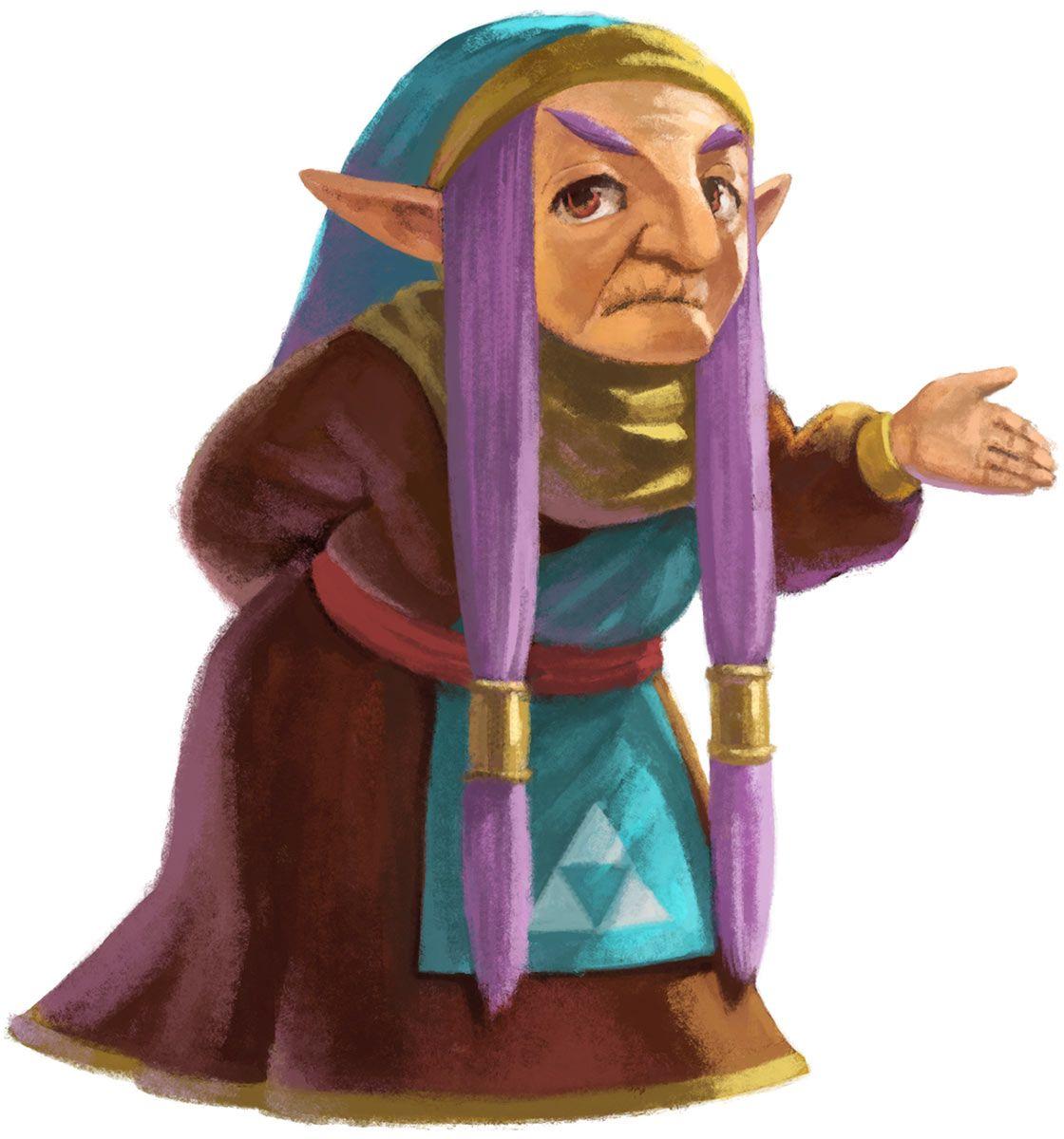 The Legend Of Zelda A Link Between Worlds Impa