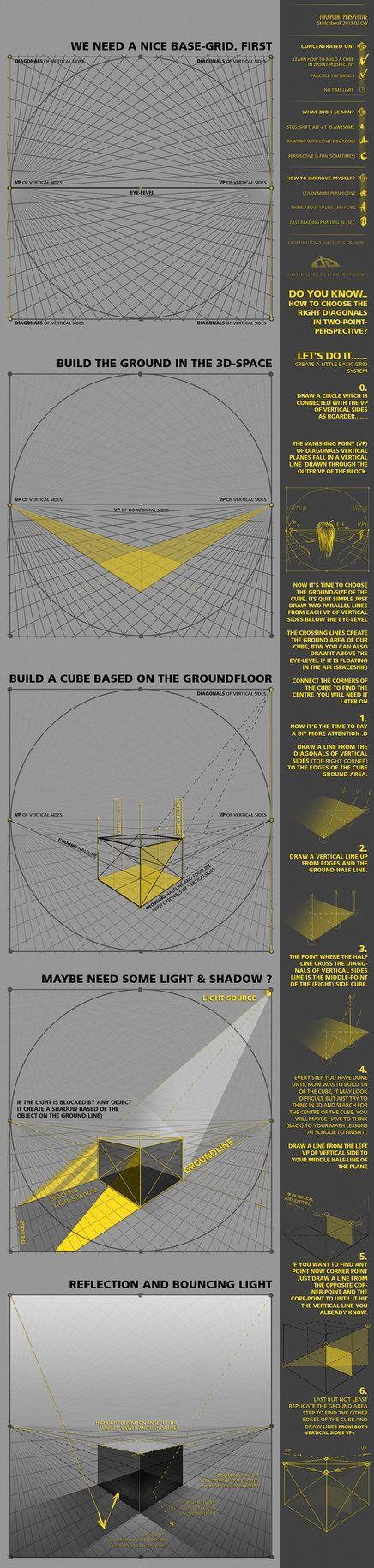 Cw02 Two Point Perspective By Justiraziel On Deviantart Clases
