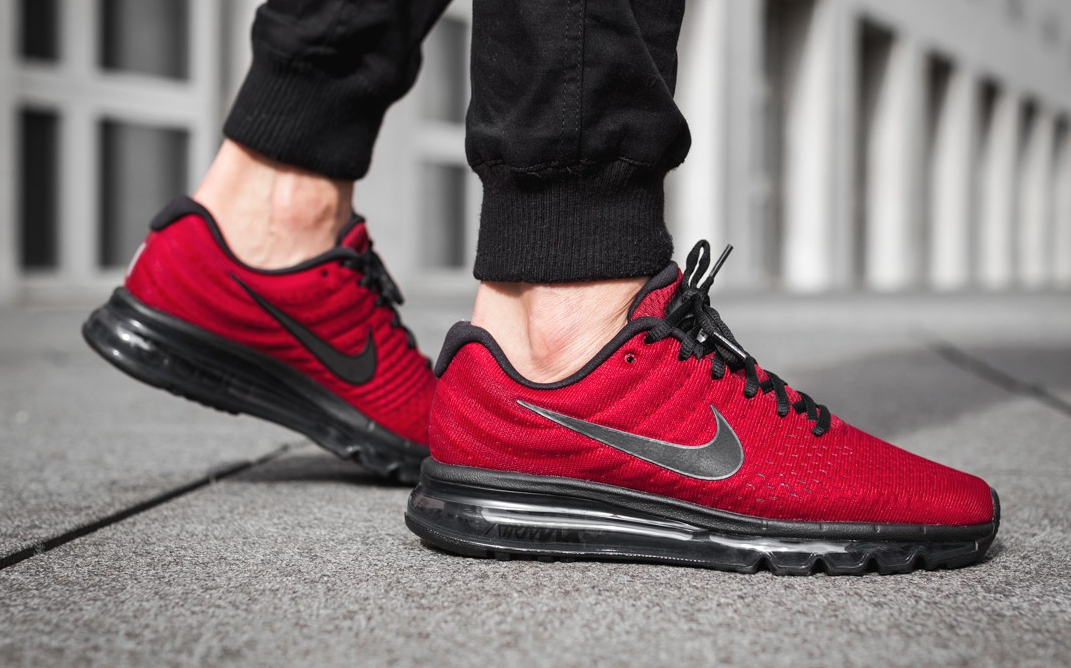 innovative design 91d89 9e69f Team Red Lands On The Latest Nike Air Max 2017 | Runway ...