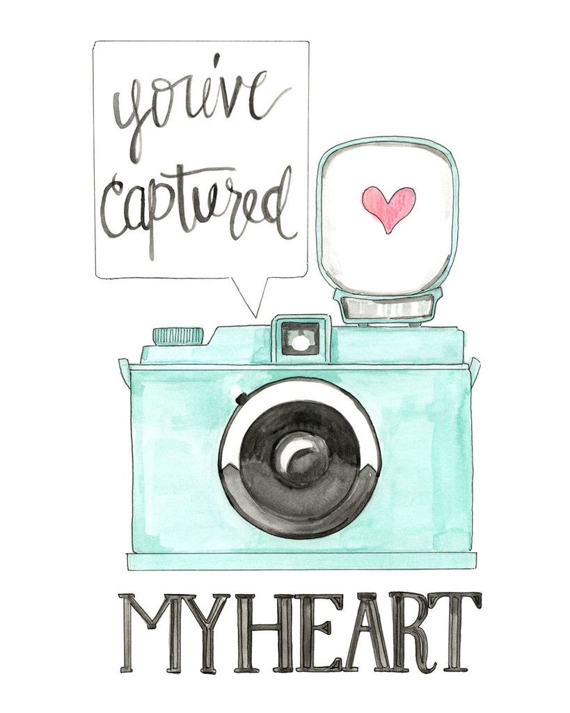 Youve Captured My Heart Art Drawings Cute Drawings Art