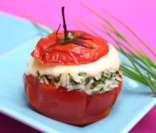 Tomates Farcies Vache Qui Rit Et Herbes Fraiches Tomates Farcies