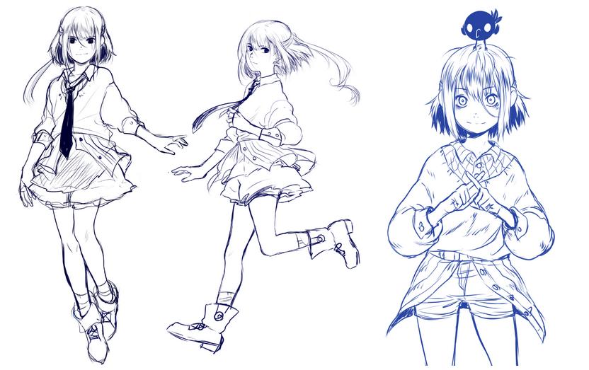 Holitas! Presentación/Desarrollo de personajes | Concurso Manga | Diseño de personajes, Personajes, Arte y diseño
