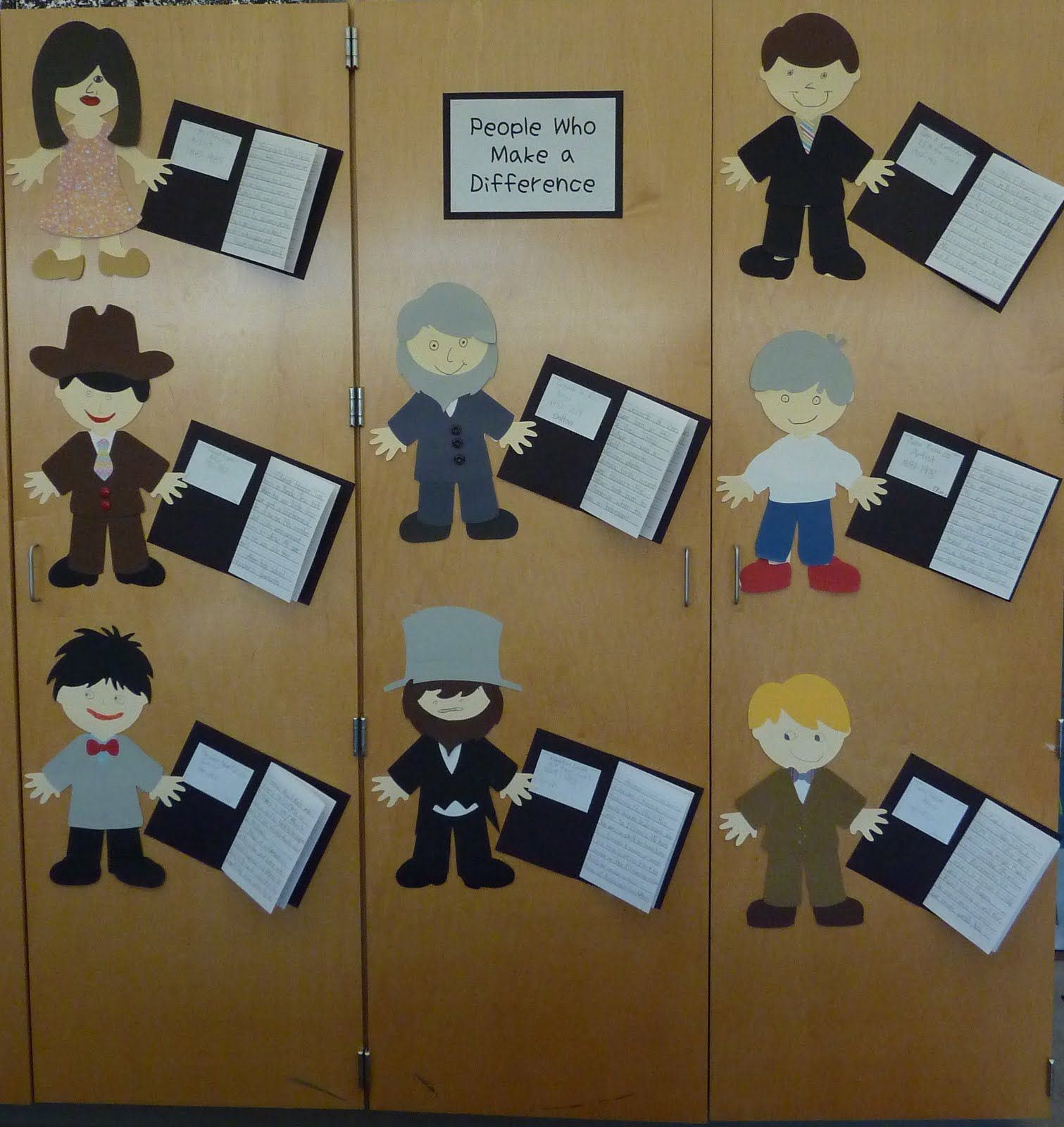 Cool biography ideas - Biography Book Reports Should Do This For Our Read Alouds Good Idea For Cricut Paper Doll Cartridges