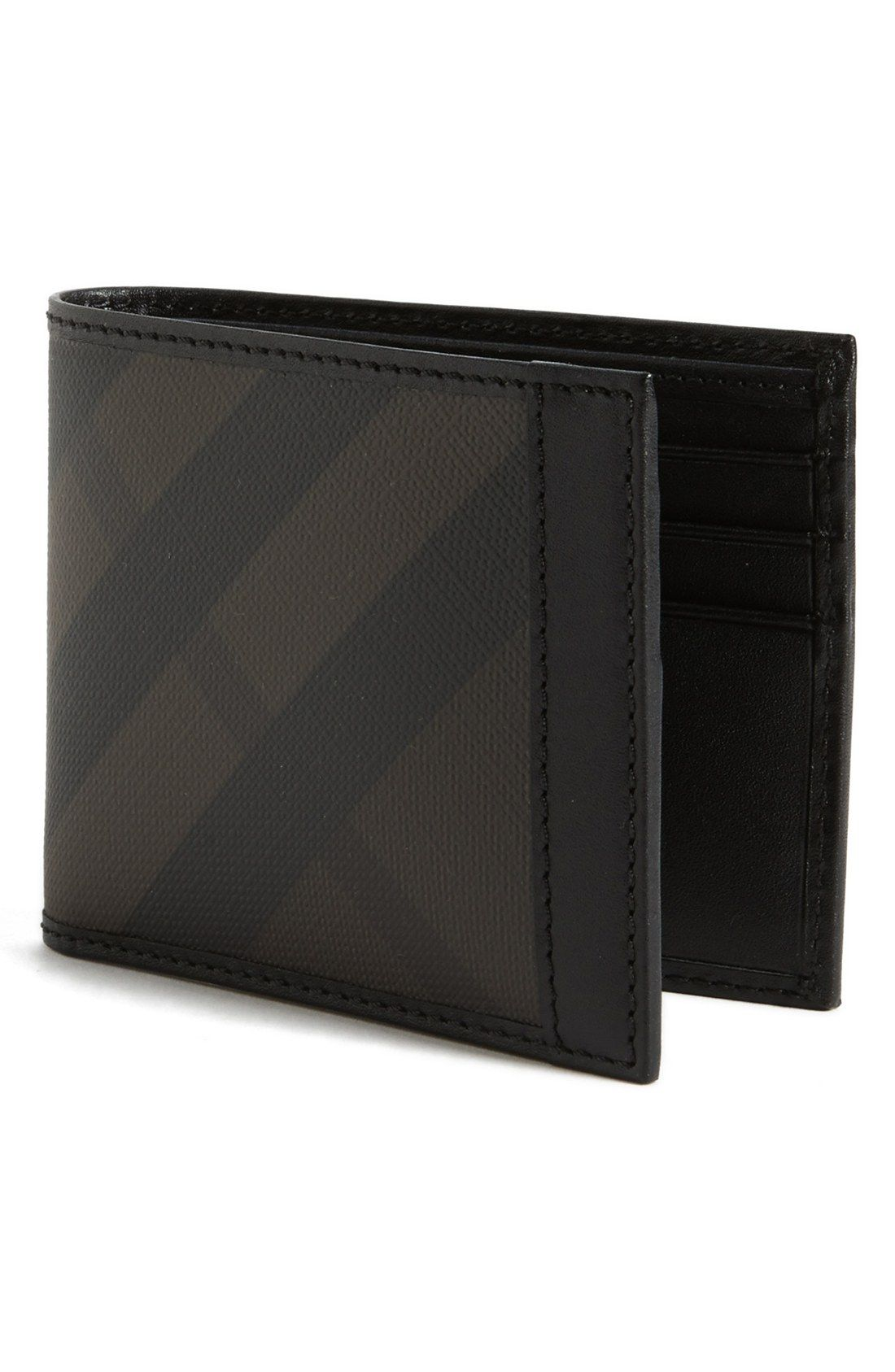 fd843bd566a Men's Fashion | Burberry check print wallet. | Winter Fashion ...