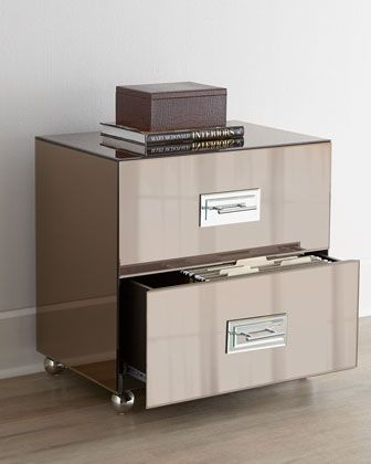chic filing cabinet } | { h o m e g o o d s } | pinterest | office