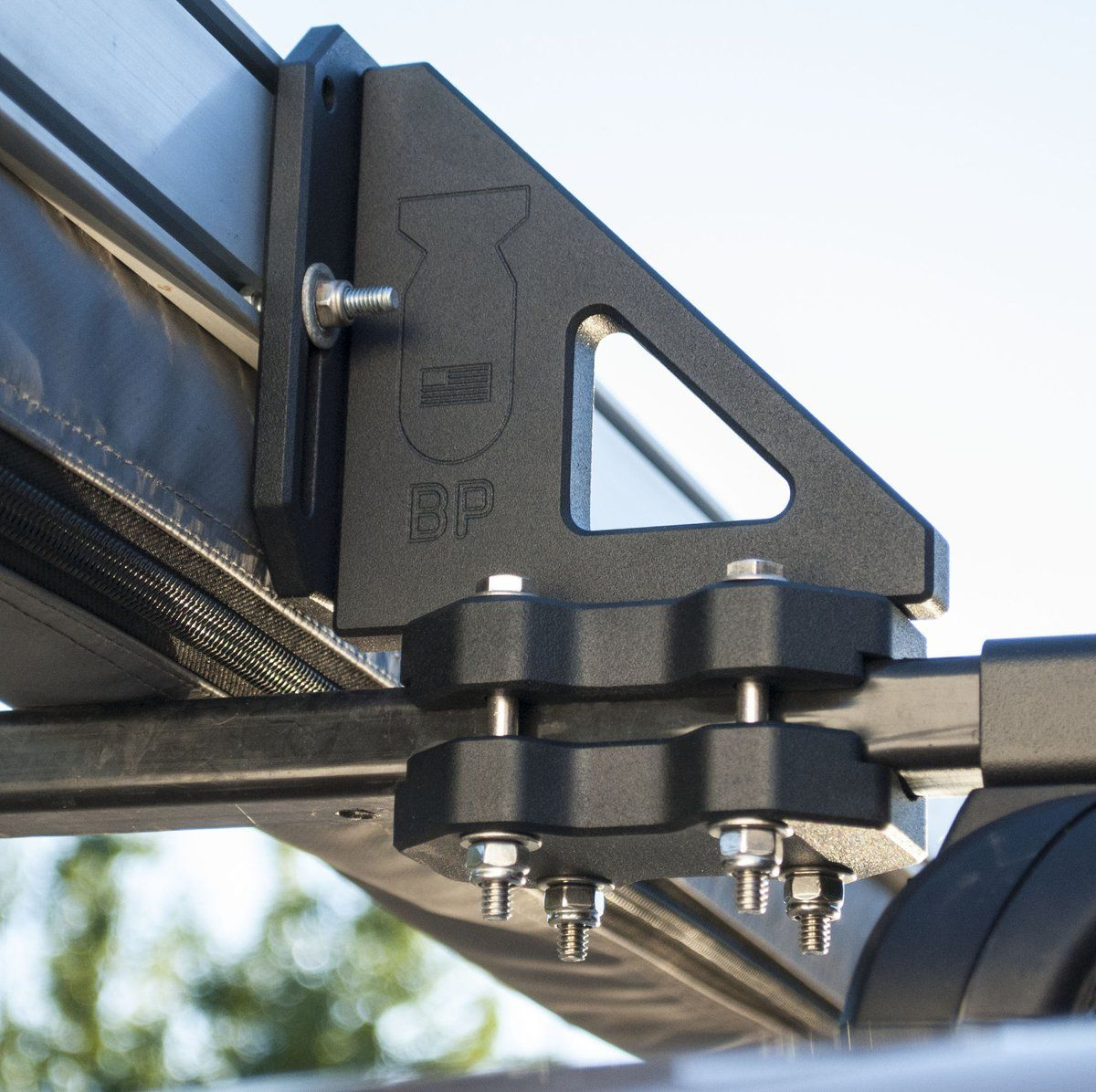 The Awn Lock Is The Awning Attachment Device For Standard Round And Rectangular Bar Roof Racks Made In The U S A L Roof Rack Roofing Equipment Towing Vehicle