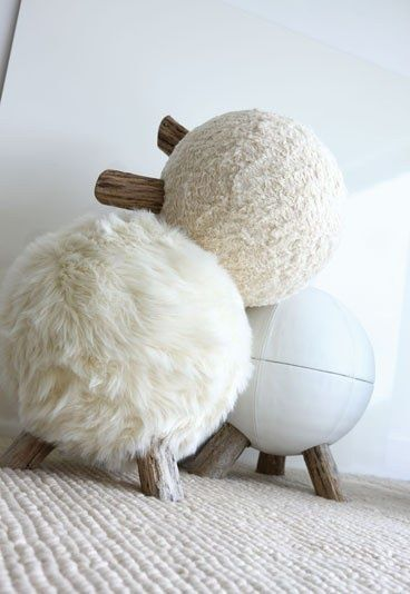 d co plus chaleureuse nos id es faciles pour cocooner cet hiver petit tabouret tabouret et. Black Bedroom Furniture Sets. Home Design Ideas