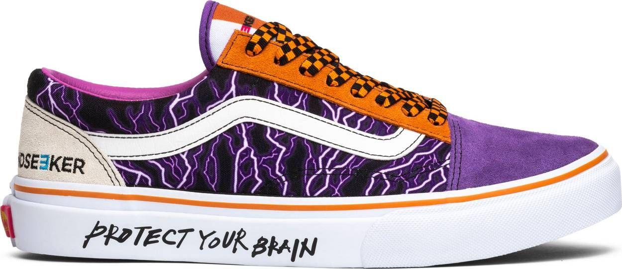 Purple lightning, Purple vans