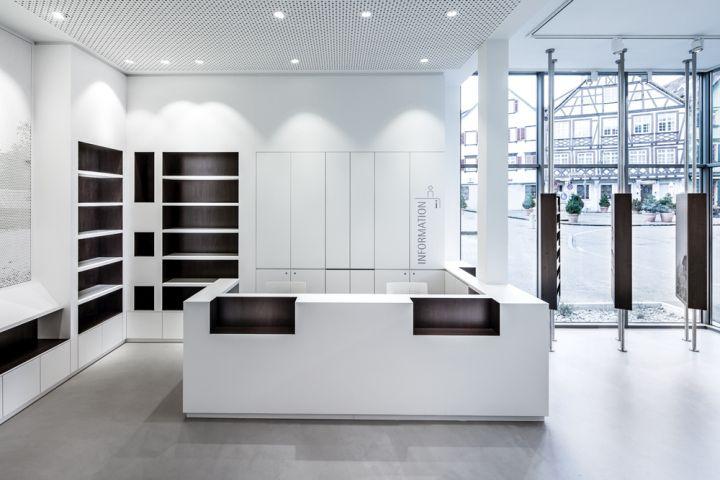 Architekten Esslingen tourist information office by dittel architekten esslingen germany