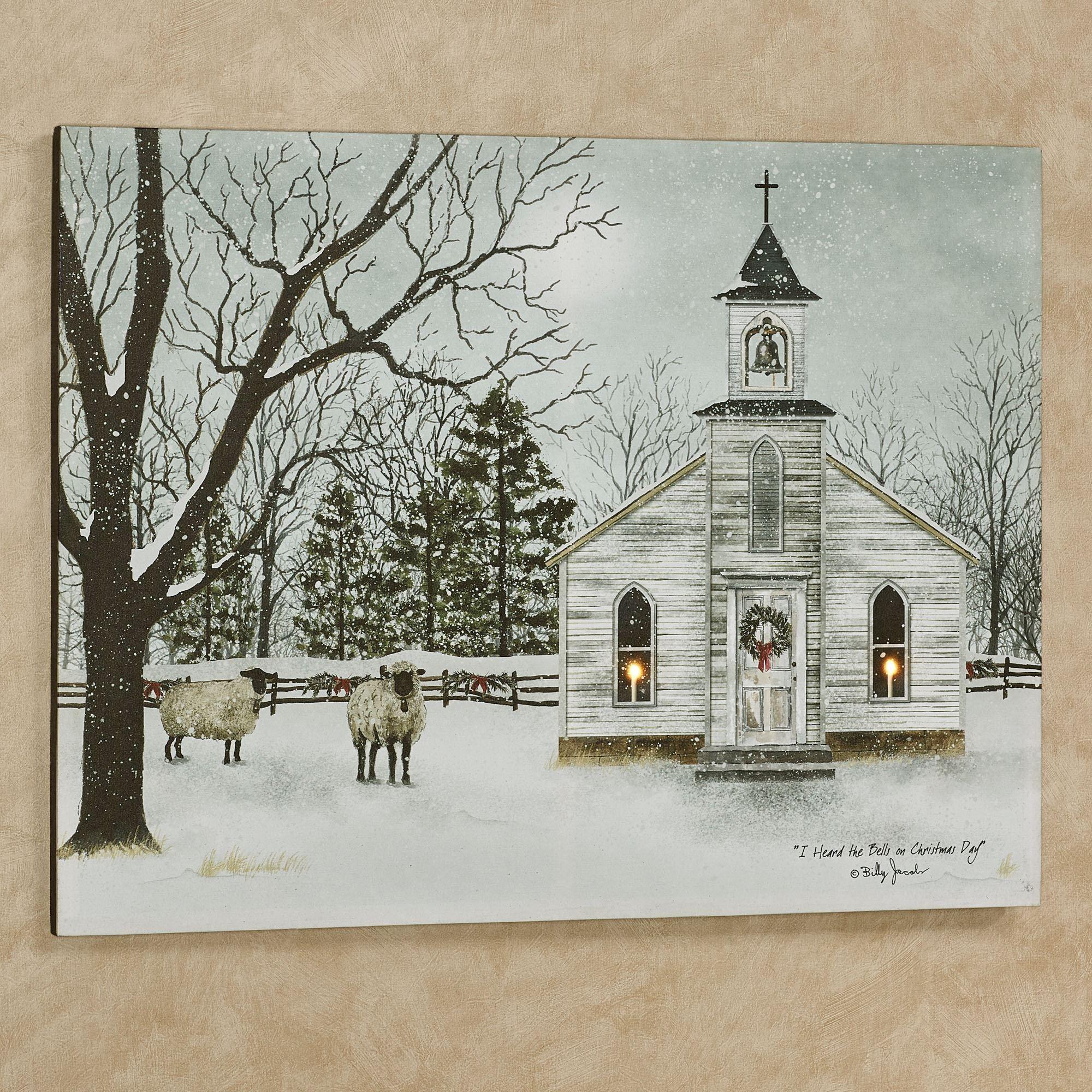 Billy jacobs i heard the bells winter church lighted