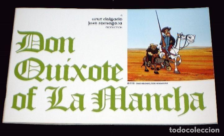 Folleto Lanzamiento Serie De Dibujos Animados Don Quijote De La Mancha Inglés 1980 Fournier Don Quijote Dibujos Animados Quijote De La Mancha