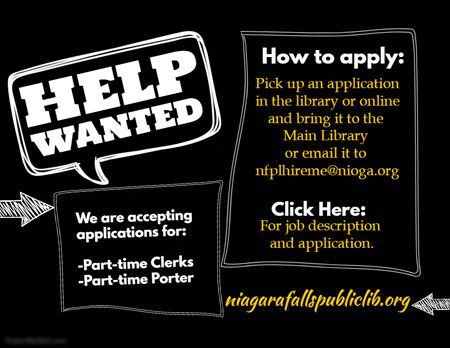Help Wanted We Are Accepting Applications For PartTime Clerks