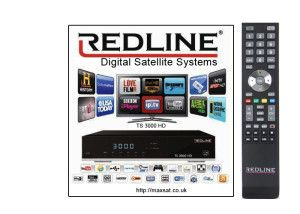 ABOUT REDLINE TS 3000 HD & T 7700 HD IPTV DECODER WITH 1