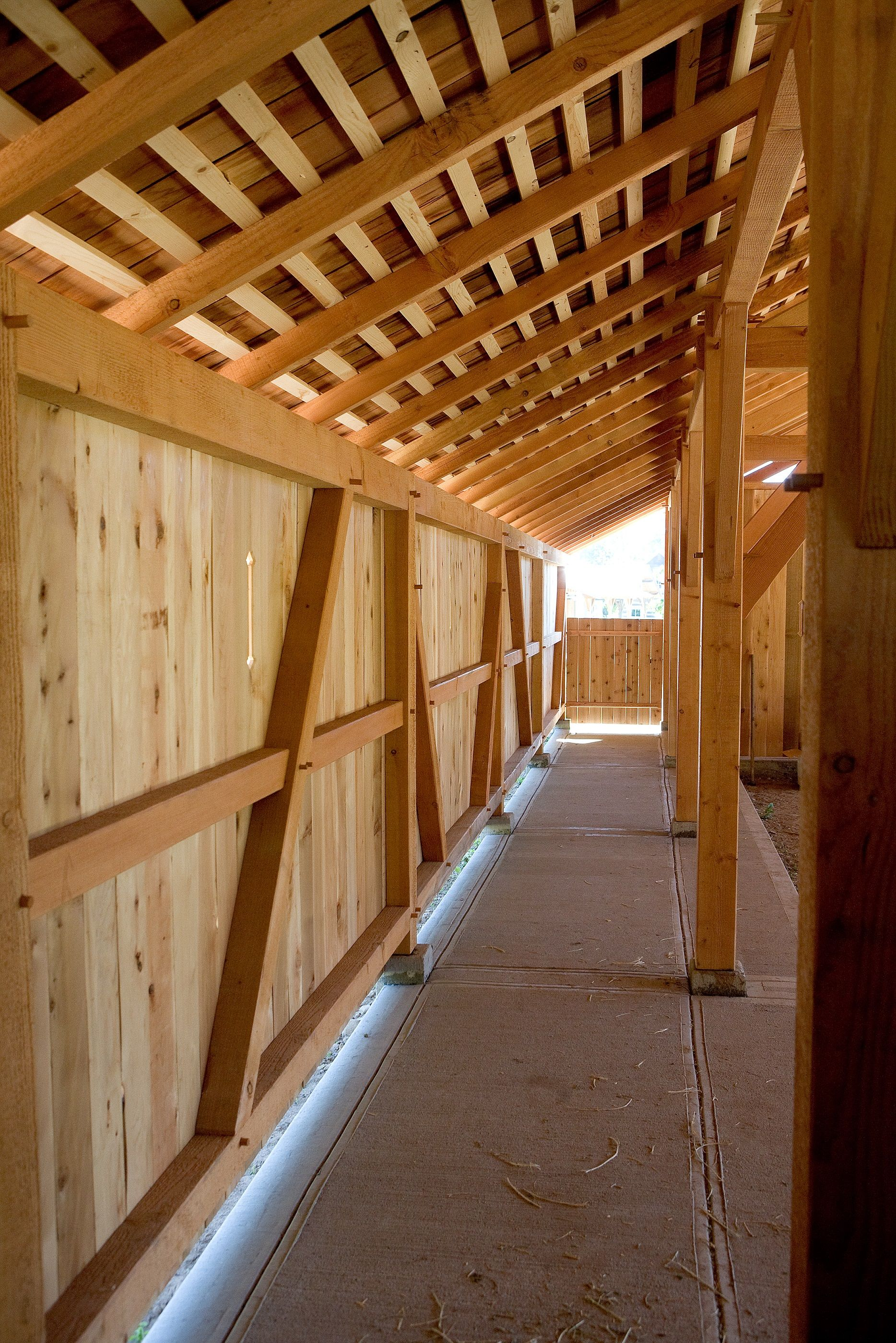 Timber Frame Wall On Column Pier Foundation Not Wall Or