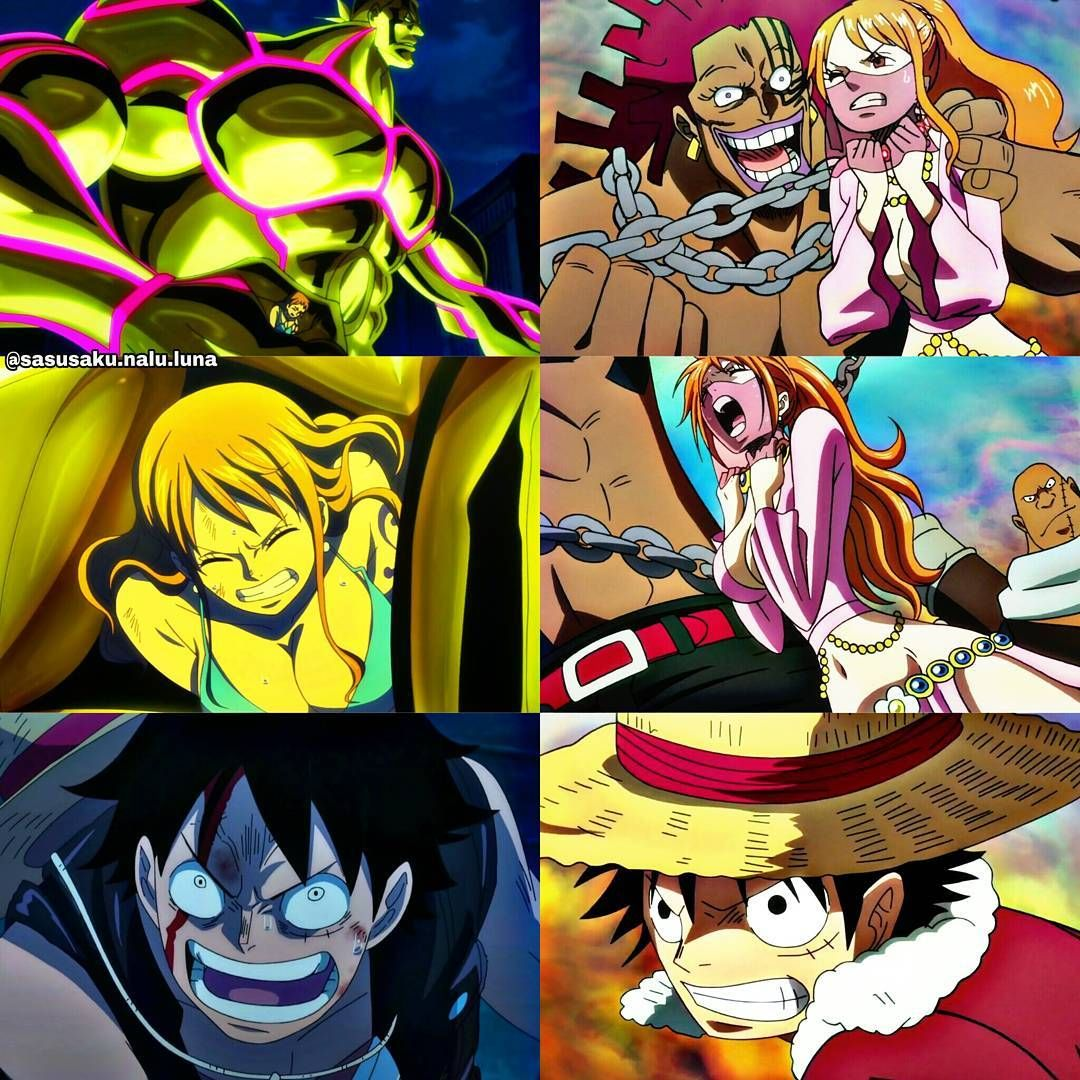 S Post Luna Parallel When Someone Touch Nami One Piece