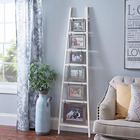 Ladder Leaner Collage Frame Kirklands Kirkland Home Decor Farm House Living Room Decor