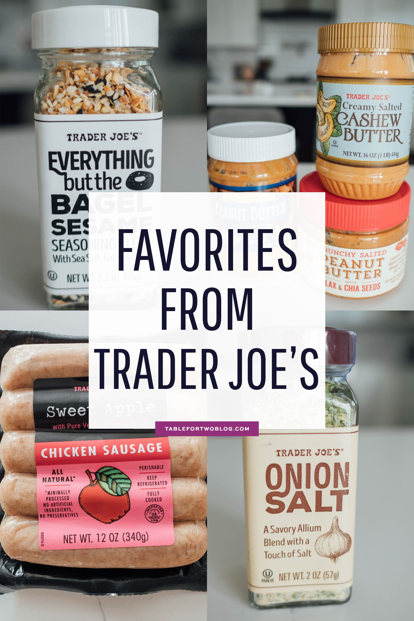 All my favorite items from trader joes compiled into one