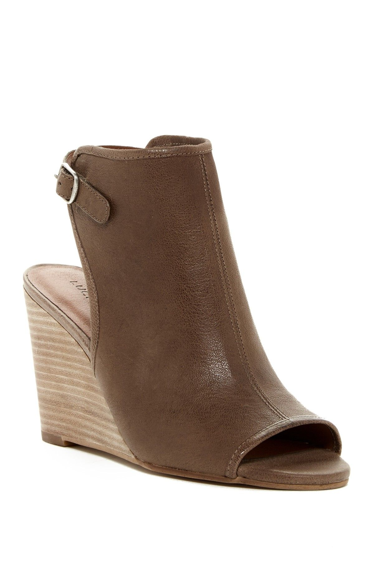 9f51e79fbdec Lucky Brand - Risza Wedge Bootie at Nordstrom Rack. Free Shipping on orders  over  100.