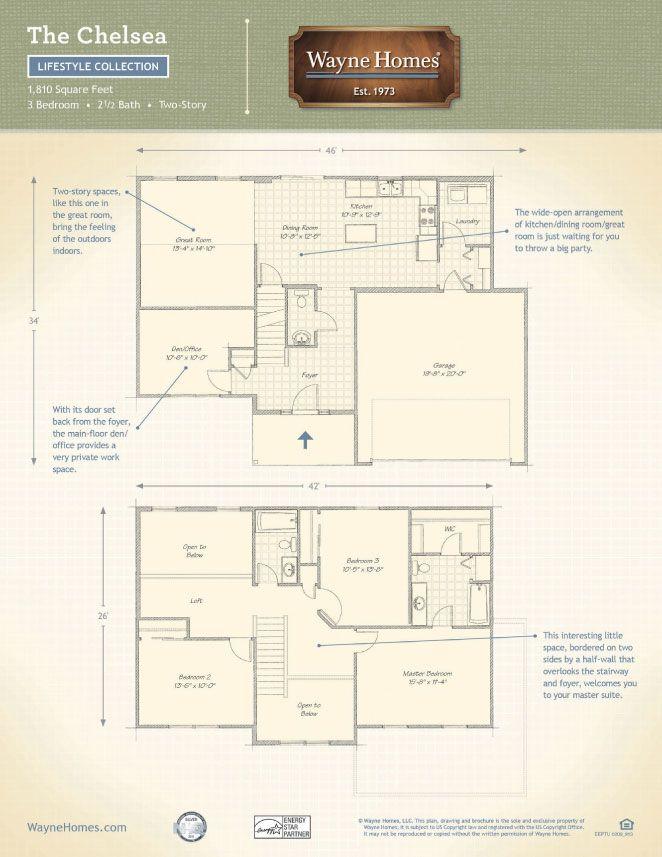 Custom craftsman home floor plans
