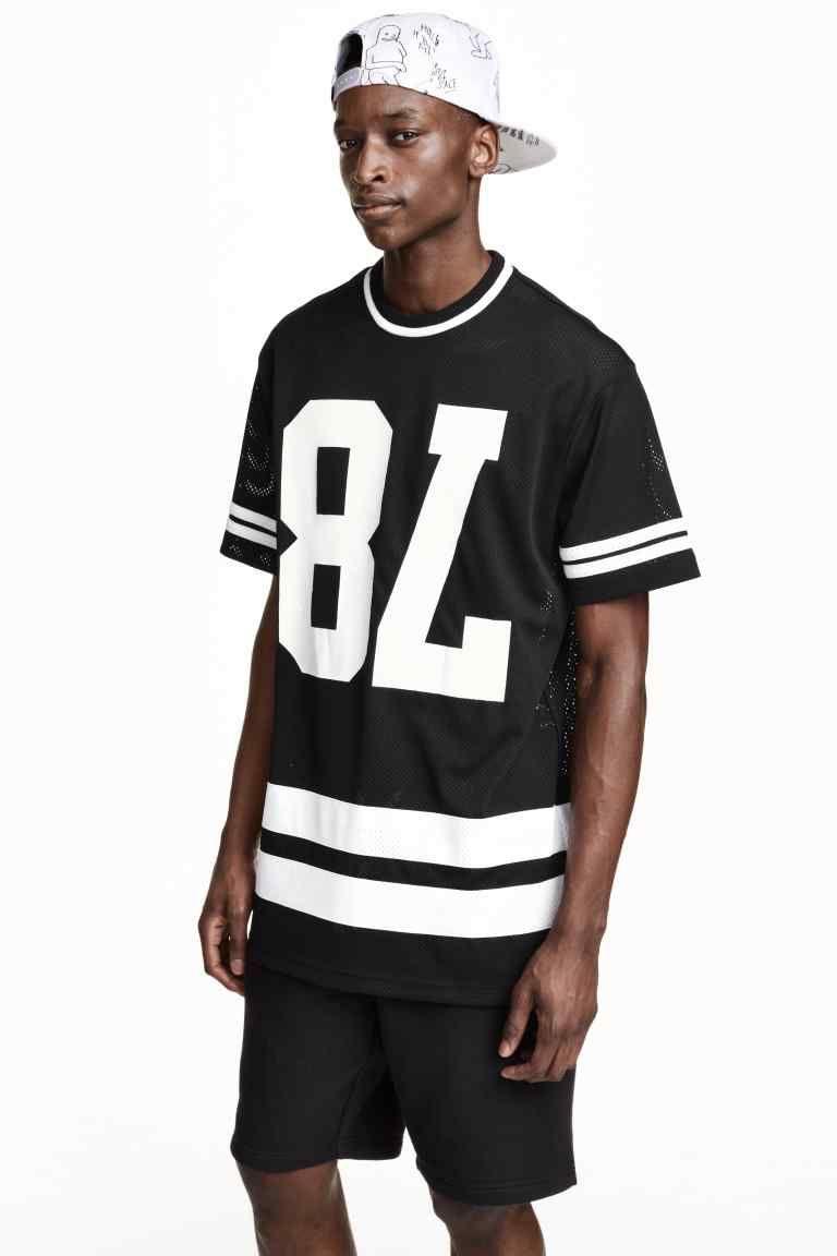 491bb63eb06e Camiseta de malla | H&M | DIEGO en 2019 | Camisetas, Camisetas ...