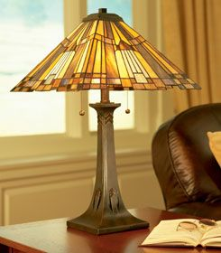Bon Stain Glass Table Lamps