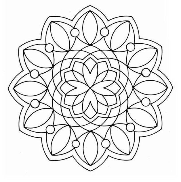 Mandala Per Adulti Disegni Di Mandala Da Colorare Pagine Da