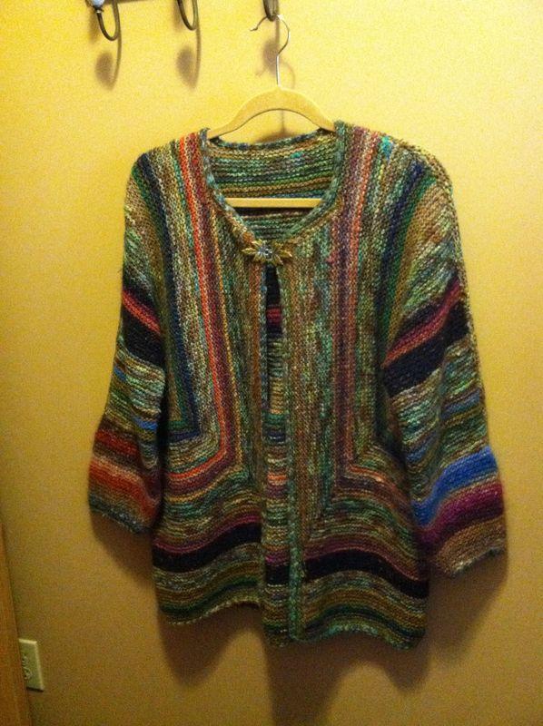 Elizabeth Zimmerman Adult Surprise Jacket | Knitting | Pinterest ...
