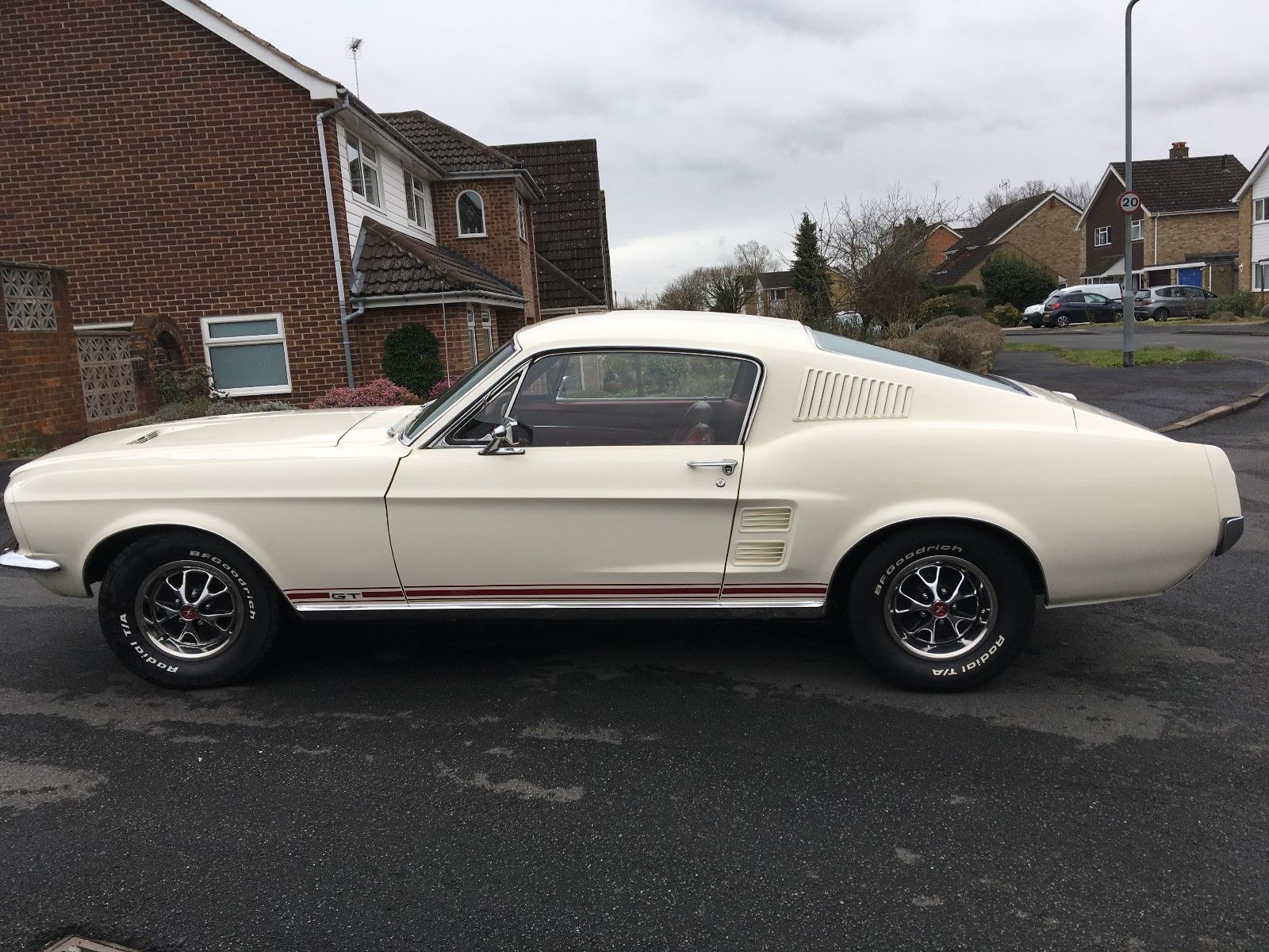 Ebay 1967 Ford Mustang 390gt Fastback 4 Speed Manual S Code Car