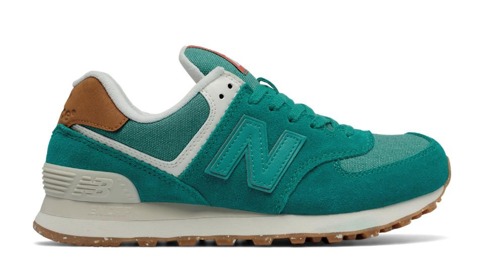 new balance 574 sport toile femme rose gold
