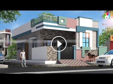 Single floor house design ideas latest elevation india  also rh pinterest