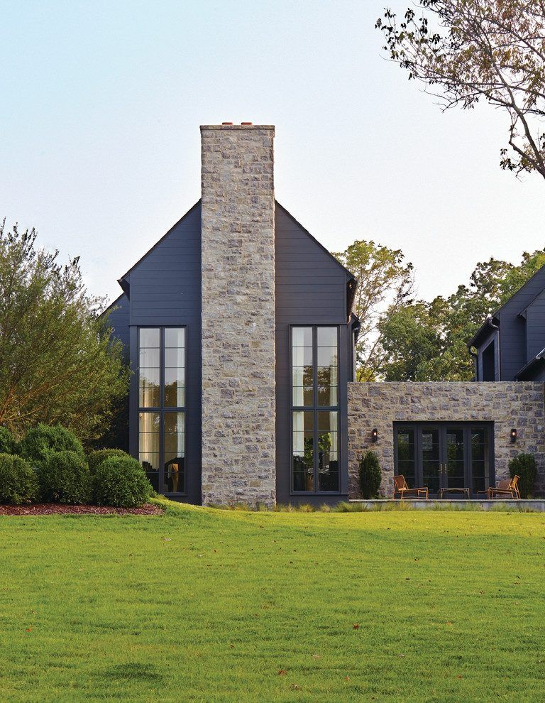 Dark Rendered House Exterior