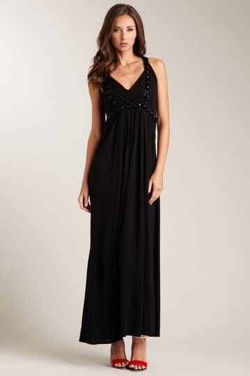 Magaschoni Embellished Maxi Dress by Spring Dresses on @HauteLook