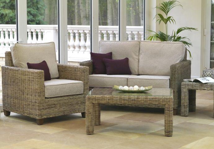 Abington Small Sofa, Chair Side U0026 Coffee Tables, Kubu Natural, Porto With  Optional