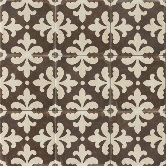 Palazzo 12 X 12 Decorative Tile In Antique Cotto Florentina Best Bathroom Flooring Decorative Tile Encaustic Tile