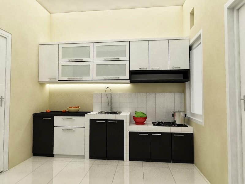 Jasa pembuatan kitchen set di solo kitchen sets for Model kitchen set sederhana
