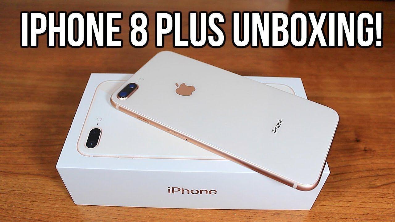 Unboxing Iphone 8 Plus Gold 256gb Youtube Iphonexunboxing