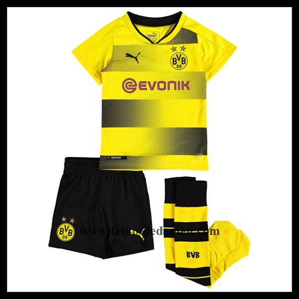 Trikot Bvb Borussia Dortmund Kinder Heim Neu Trikots Bvb