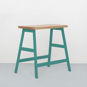 metal framed tables and benches | Iacoli & McAllister | Seattle, Washington