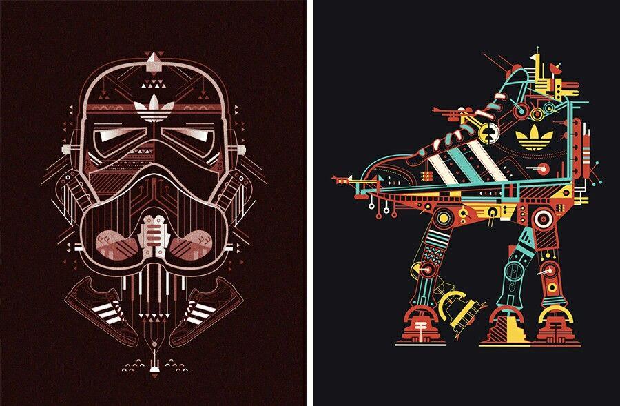 Adidas Star Wars Wallpaper