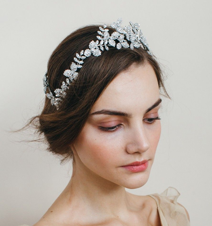 cecilia coronet - bridal | wedding hair and accessories | pinterest
