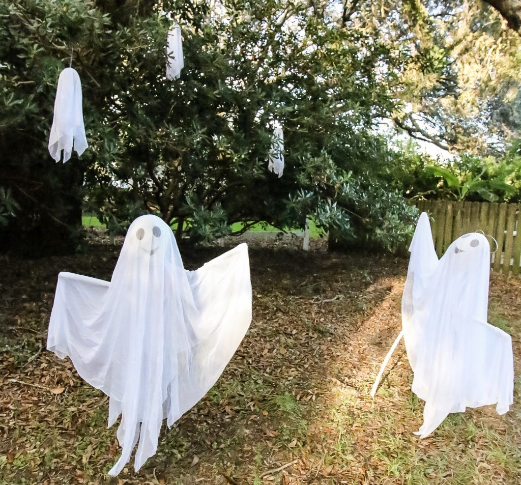 Halloween Ghost Yard Decor sponsored by Wayfair
